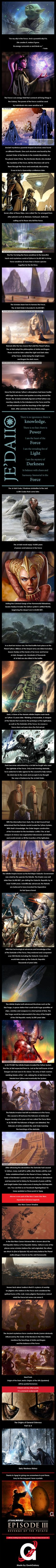 Origins of the Jedi (Star Wars History).