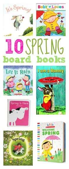 Find 10 spring board books for toddlers in our #RaiseaReader #parents blog. Click for more.