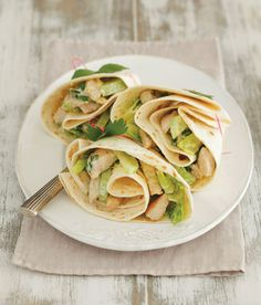 Easy Turkey Wrap Recipe - Food and Recipes - Mother Earth Living