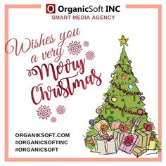 Organic Soft INC wishes you a very 🦌🎅🎄☺️ Online Marketing, Social Media Marketing, Digital Marketing, Merry Christmas, Xmas, Christmas Ornaments, Happy Holidays, Wish, California