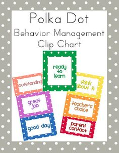 First Class Teacher: Classroom Behavior Management Tools FREEBIE