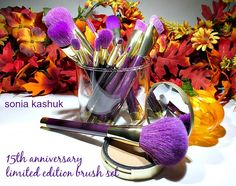 Sonia Kashuk 15th Anniversary Limited Edition 15 Piece Professional Brush Set Review. via@ErikaCostello