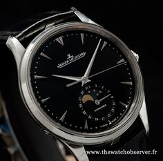 Jaeger-LeCoultre Master Ultra Thin Moon 39 Réf. 1368470 prix et photos exclusives