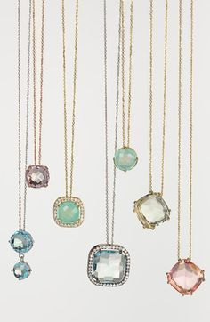 Pretty pendant necklaces
