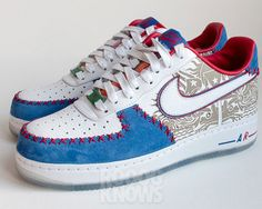 """Nike Air Force 1 Low """"Puerto Rico"""" 2013"""