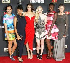 The Walking Dead Season 5 Premiere Red Carpet Roundup: @Universal CityWalk 10.2.14