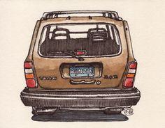 Volvo 240 Wagon, France Belleville-Van Stone