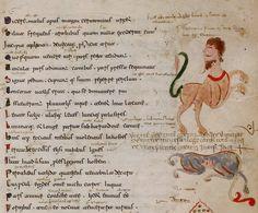 Metamorfosis. documento conocido como el Ovidio de Nápoles, proviene de la región de Puglia (Apulia) en el sur de Italia- 616x510