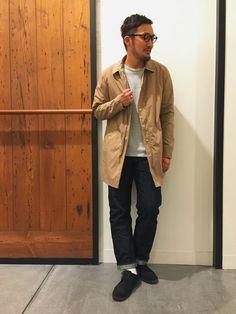 アーバンリサーチ DOORS あべのand店|takeshimaさんのその他アウター「DOORS タイプライタースプリングコート(URBAN RESEARCH DOORS MENS|アーバンリサーチ ドアーズ メンズ)」を使ったコーディネート