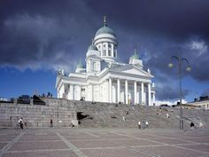 Churches in Helsinki Visit Helsinki, Close Image, Finland, Taj Mahal, Cathedral, Photo Galleries, Mansions, House Styles, City