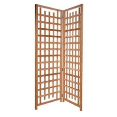Have to have it. All Things Cedar 7-ft. Cedar Wood Privacy Screen Trellis - $369.99 @hayneedle