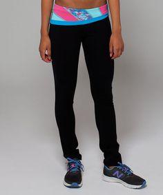 Love this Black Burst Quilt 2 Skinny Dedication Pants on #zulily! #zulilyfinds