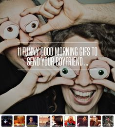 11 #Funny Good Morning GIFS to Send Your #Boyfriend ... → Funny #Morning