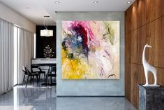 Items similar to Large Modern Wall Art Painting,Large Abstract wall art,acrylics paintings,abstract originals,bathroom wall art on Etsy Large Abstract Wall Art, Large Canvas Art, Contemporary Wall Art, Modern Wall Decor, Oversized Wall Art, Bathroom Wall Art, Acrylics, Originals, Paintings