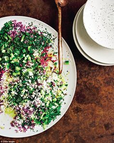 If you can find purple, yellow or green cauliflower, they make for an especially stunning presentation