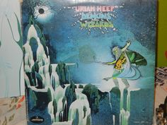 Uriah Heep Demons and Wizards Vintage Vinyl Super 1970's dated 1972  Rainbow Demon Traveller in Time Easy Livin Poet's Justice All My Life