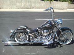 custom harley softail deluxe | ... -Jackson Lot #614 - 2005 HARLEY-DAVIDSON SOFTAIL CUSTOM MOTORCYCLE
