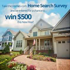Tell Us about Your Home Search & Enter to Win Five Hundred Dollars! http://blog.homes.com/2013/01/tell-us-about-your-home-search-enter-to-win-500/# #househunting