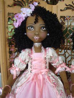 Bonecas de pano negras. Soraia Flores.