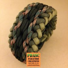 Worked on this today. Needed a wide(r) bracelet for an order and opted for the ever popular Wide Sanctified. #pdasc #paracord #paracordcommunity