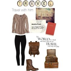 Travel outfit / fall outfit / winter outfit