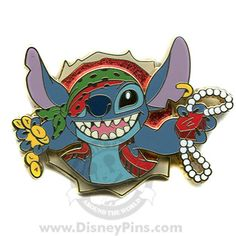 Disney Cruise Line® - Pirates of the Caribbean - Stitch - Completer Pin