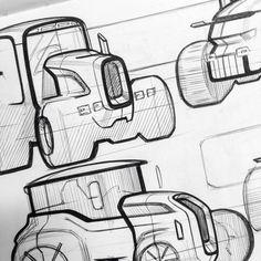 Tractors on Behance: