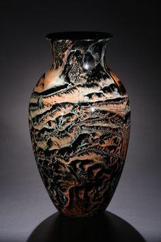 Red New Mexico Vase Josh Simpson