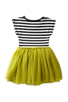 t-shirt tutu dress | strips n lime | for small people who can't decide if they want to be a pirate or a princess...