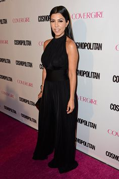 The Kardashian-Jenner Ladies Step Out For Cosmo's Birthday Bash
