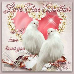 Thanks Joy for sharing . Love the verse Let's all Love One Another ~ Darlene ♥ I Love The Lord, Love One Another, Love Can, Gods Love, Couples Quotes Love, Love Quotes For Him, Facebook Image, For Facebook, Love Images
