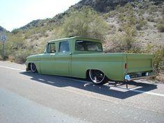 1962 Chevy Pickup  Crew-Cab LWB-Fleetside  bagged + MY YEAR= COOL
