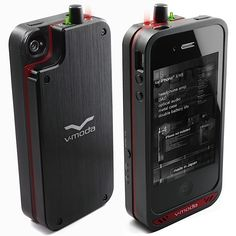 6/12/2012 - V-MODA VAMP - for serious audiophiles who want a pre-amp built into their iPhone and extended battery life (included). Amazing, but $650.