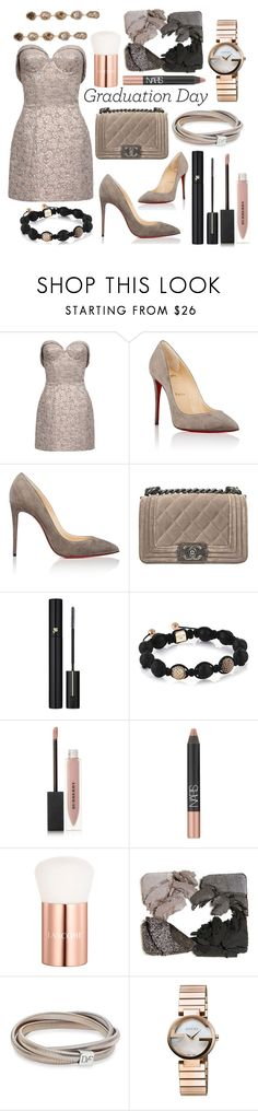 """♡♡"" by chantellexxxx on Polyvore featuring Christian Louboutin, Chanel, Lancôme, Burberry, NARS Cosmetics, Diane Von Furstenberg, Gucci and Saqqara"