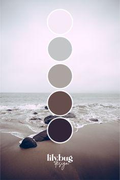 Beach Color Palettes, Blue Colour Palette, Colour Schemes, Wall Colors, Colours, Color Style, Creative Colour, Colour Inspiration, Design Services
