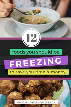 12 THINGS YOU SHOULD BE FREEZING TO SAVE YOU TIME AND MONEY | As you grocery shop, watch for good prices on items that you buy regularly. It will save you time and money to buy extra of these items and freeze them. You won't have to go grocery shopping as often, and you aren't paying full price for anything. Then follow these 12 life hacks for food to freeze for your family.