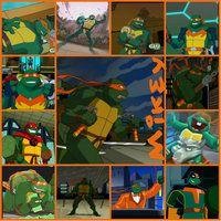 TMNT:: Mikey: collage: 2003 by Culinary-Alchemist on DeviantArt Ninja Turtles Art, Teenage Mutant Ninja Turtles, Tmnt Mikey, Turtle Life, Tmnt 2012, Girl Meets World, Power Rangers, Pokemon, Character Design