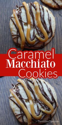Delicious Cookie Recipes, Easy Cookie Recipes, Yummy Cookies, Bar Recipes, Sugar Cookie Frosting, Sugar Cookies, Starbucks Caramel, Cookie Exchange, Party Treats