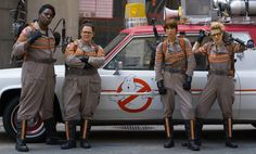 Ghostbusters- KRISTEN WIIG AND THE REST OF THE GHOSTBUSTERS LOOK SUPER BADASS IN NEW CAST PHOTO