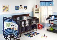 Disney My Friend Mickey 4 Piece Crib Bedding Set  by Disney