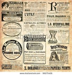 Google Image Result for http://image.shutterstock.com/display_pic_with_logo/835795/99275426/stock-photo-newspaper-page-with-advertisement-vintage-engraved-illustration-la-mode-illustree-by-firmin-99275426.jpg