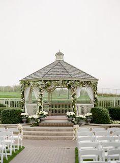 Wedding, Ceremony, Outdoors, Gazebo, Merryl marko