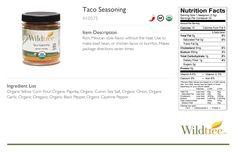 Taco Seasoning (3 oz) - Wildtree