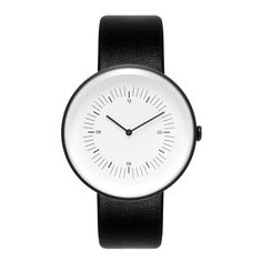 Watches Inline Black White Black (2 115 SEK) ❤ liked on Polyvore featuring home, home decor, british home decor, black white home decor, black home decor, black and white home accessories and black and white home decor
