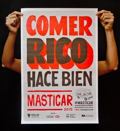 Yani & Guille – Handmade visual identity for Masticar, a food festival in Argentina.