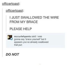 This funny pun. | 17 Tumblr Posts That Are Just Too Damn Hilarious