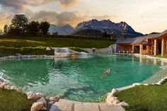 Best Boutique Hotels, Best Hotels, Dream Vacations, Vacation Spots, European Vacation, Best Hotel In World, Hotel Zell Am See, Pool Indoor, Medical Wellness
