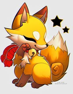 cute animated fox - Google Search