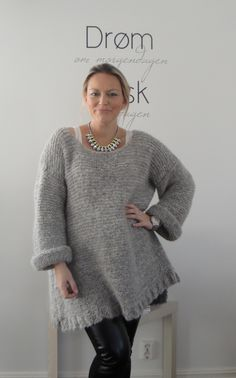 FantasyKnits — Maria Skappel Pullover, Head To Toe, Knitting Projects, Plus Size, Wool, Pretty, Sweaters, Knits, Dame