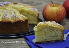 torta di mele allo yogurt | la cucina di Rosalía